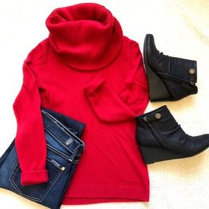 Gap Super Chunky Cowl Neck Sweater